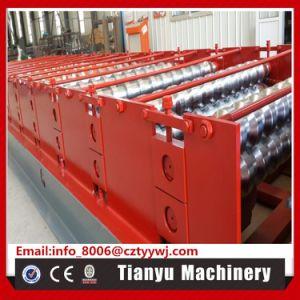 Panneau de toit de tuiles acier trapézoïdal machine à profiler à froid