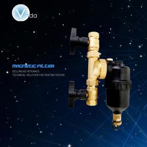 2017 Nouvelle conception 12000 Gauss du filtre à eau magnétique de la chaudière (AFM-08)