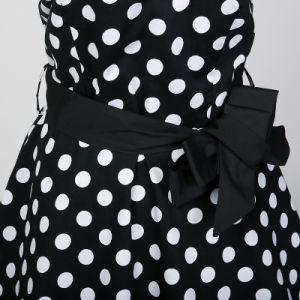 プラスのサイズの女の子党Badageのセクシーな背部が開いた夏の服