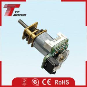 Mini 12V CC motor caja eléctrica con un codificador