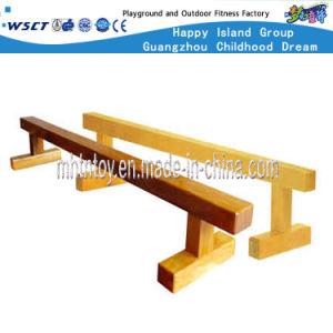 De houten Apparatuur van de Speelplaats van de Brug van het enig-Logboek van Kinderen Binnen (HF-22006)