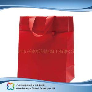 Le papier imprimé à l'Emballage Sac pour le shopping// cadeau des vêtements (XC-bgg-036)