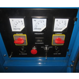 Panneau LCD de type ouvert Cummins Groupe électrogène Diesel