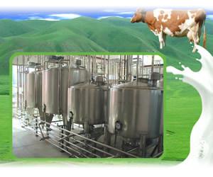 Linha de produção do pó de leite do aço inoxidável