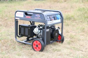 Casa de la gasolina generador alternador 5Kw 220V con motor eléctrico