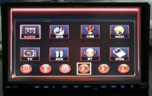 7'' LCD 2/Double Din Car DVD Player (MK-7013)