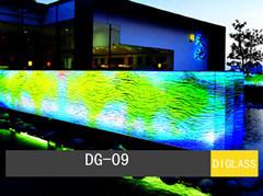 Panneau de verre dichroïque (DG-09)