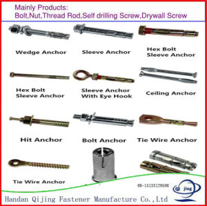 316l stainless steel anchor bolts