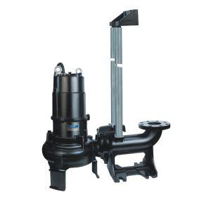 La pompe d'eaux usées submersible