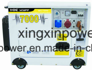 Bewegliches kleines Dieselgenerator-Set der Energien-5kw mit CER