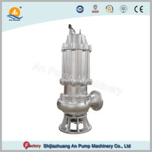 Electric Acero Inoxidable Fundición de Precisión bomba sumergible de aguas residuales