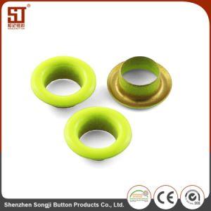 O olhal de metal combinada individual personalizado botão redondo para agasalho