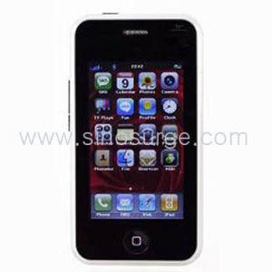 Mobiele Telefoon van TV van de Kaart SIM van Quadband de Dubbele (mp-N009)