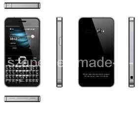 Telefone celular Qwerty super fino com certificado CE (APM-E12)