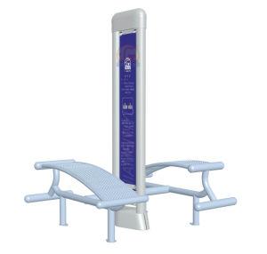 Patio de recreo al aire libre Equipment-Sit arriba formador (TY955)