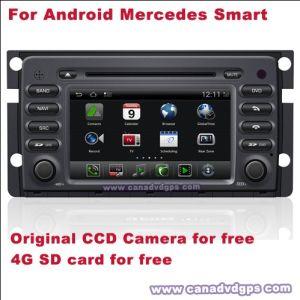Mercedes Android Bulit astuto nella carta di deviazione standard della macchina fotografica del CCD di Bluetooth DVR WiFi 3G per migliore servizio di migliore qualità libera libera Shipping+Gift