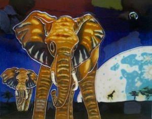 手塗りの芸術の陶磁器の絵画DT1207
