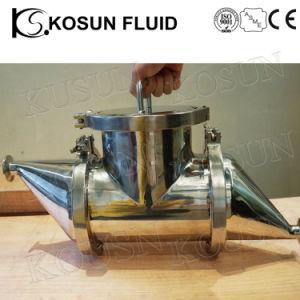 스테인리스 산업 액체 분말 자석 필터 함정