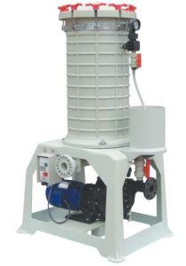 Filtro de galvanização de PP filtro de cartucho do filtro de Tratamento de Águas Residuais