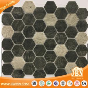 Mattonelle di mosaico di legno di esagono di Foshan della fabbrica ...