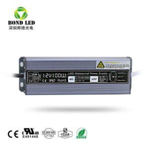 Il Ce RoHS 30W approvato dell'uscita di CC 12/24V impermeabilizza l'alimentazione elettrica del LED