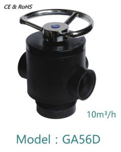 10m3/H de la válvula de control de filtro manual