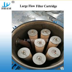 La suspensión de fibra de vidrio el cartucho de filtro fino