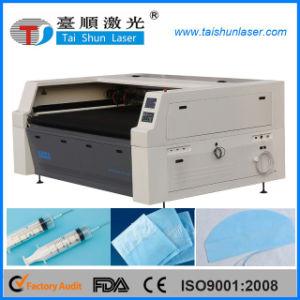 1600mmx1000mm CO2 100W Laser-Scherblock-Ausschnitt-Maschine für Textilgewebe-Leder-hölzernen Acrylfurnierholz MDF