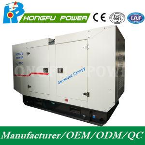 geluiddichte Super Stille Diesel 240kw Hongfu Generator met Motor Perkins