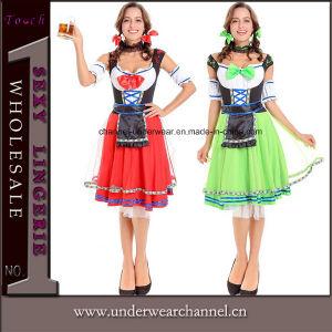 2017 L'Halloween adulte Sexy Mesdames bavarois traditionnel de la bière allemande Girl Costume (TLQZ7106)