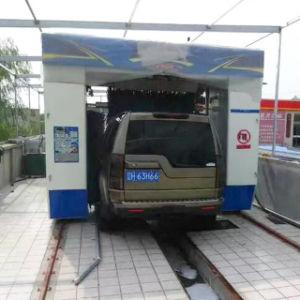 La mejor opción de lavado de coches de Rollover con pincel lavado automático de automóviles