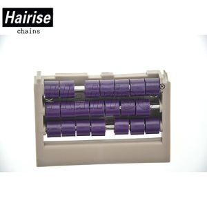Pièces de convoyeur de la FDA Harzmb Rouleau en plastique de la plaque de transfert