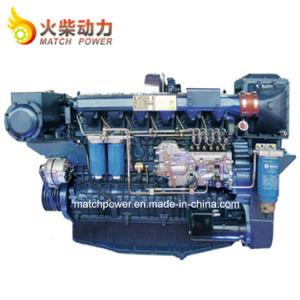 Dieselmotor van de Boot van de Motor van Weichai 400HP de Mariene Wp12 met Hoge Efficiency