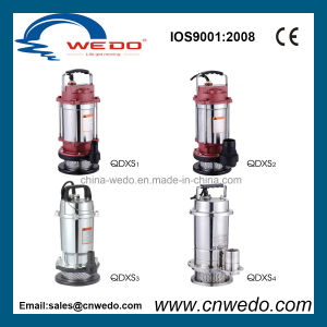 Qdxs15-7-0.55 Pomp de met duikvermogen van het Water voor Irrigatie