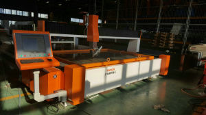 Eixo 5 CNC máquina de corte cônica de jacto de água