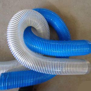 Китай гибкий трубопровод вентиляции стальная проволока шланг из полиуретана PU шланг