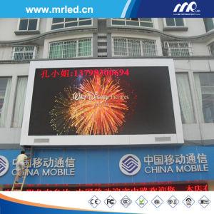 P20 Outdoor plein écran à affichage LED de couleur sur le dessus du bâtiment