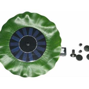 Ronda Flutuante de água portátil Bombas Fonte Solar Piscina