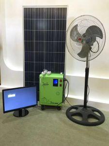 100W 150Wの太陽電池パネルライト発電機の軽いホームを満たす携帯用DCの太陽電池パネル