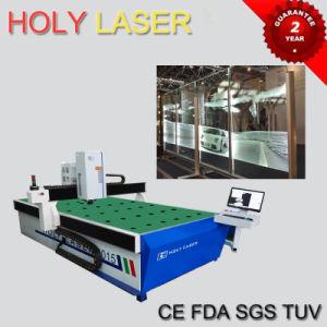2D Entwurf 3D Laege Größen-Glaslaser innerhalb der Gravierfräsmaschine