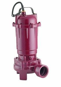 2pulgadas Cortador de drenaje de aguas residuales de la bomba sumergible de aguas residuales bomba