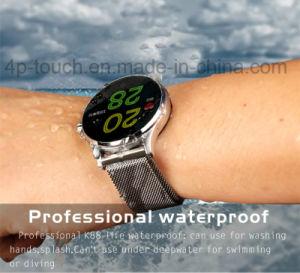 磁石の止め金の心拍数のモニタK88が付いているスマートなBluetoothの腕時計