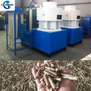 3-5t/Hブルガリアの使用の縦のリングは機械を作る堅い木製の餌を停止する