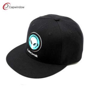 Televisão Bordados Hip Hop Snapback Caps com o pico correspondente (03001)