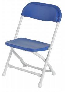 강철 쉬운 아이들 생일 파티를 위한 Fodling 의자를 취한다