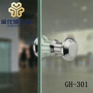 GH-301 Muebles de vidrio y acero de la puerta de la perilla de inserción/montaje de la puerta de mango