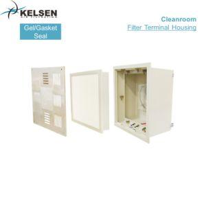 Salida de aire de acero inoxidable 304 con filtro HEPA de sellado de gel para sala limpia