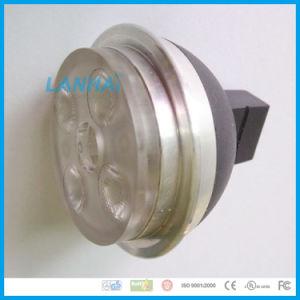 Witte LEIDENE van de Kop GU10/MR16 van het Aluminium Lichte 10W Schijnwerper