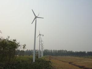Turbina di vento per il sistema dell'alimentazione elettrica di su-Griglia