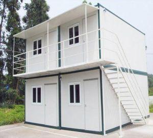 사무실 설비를 위한 20FT 편평한 팩 선적 컨테이너 집